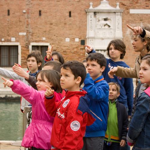 Percorsi per bambini, Macacotour: giochi e tour per bambini a Venezia